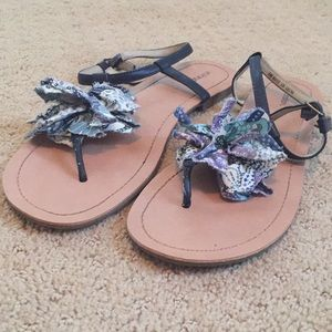 Frilly Sandals